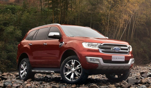 ford everest trend 2018 - 1