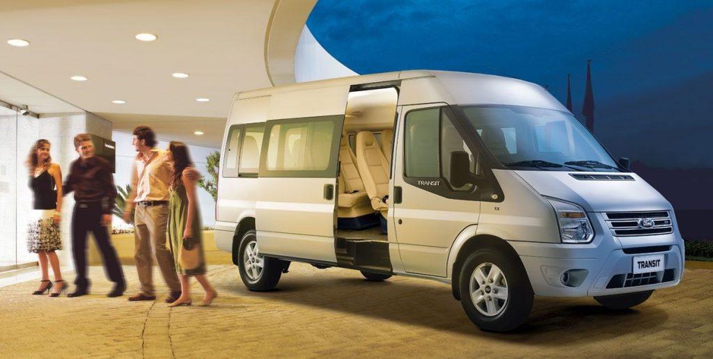 An toàn và tiện nghi là những đặc tính xe Ford Transit mang lại