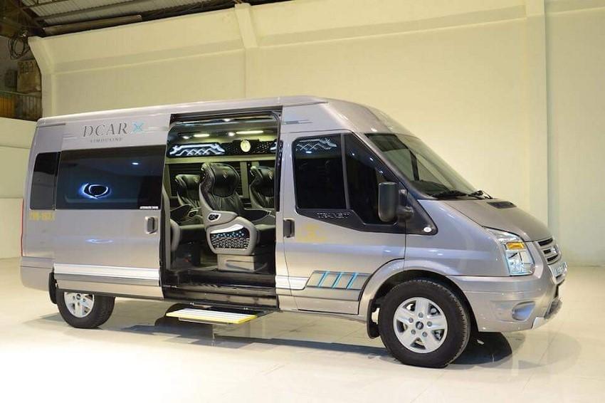 Ford Transit mang lại cảm giác thoải mái và an toàn cho hành khách
