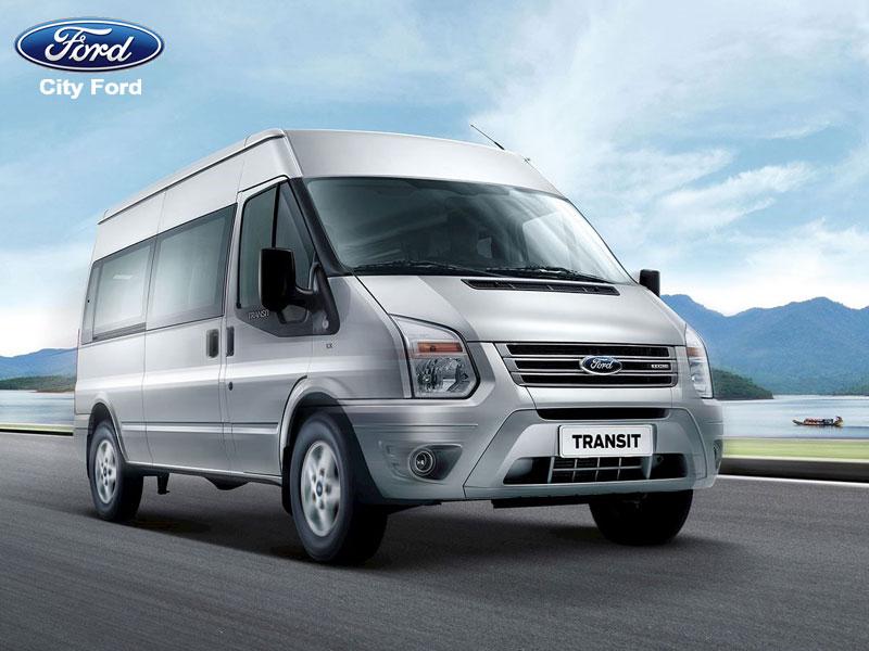 Động cơ mạnh mẽ, tiết kiệm nhiên liệu Ford Transit tự tin chinh phục mọi cung đường