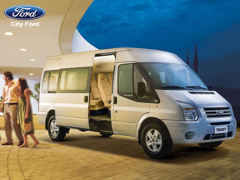 Ford Transit chính là lựa chọn của nhiều doanh nhân