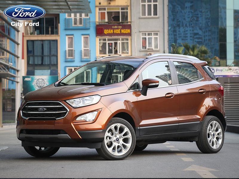 Ford Ecosport dành được nhiều thiện cảm của người dùng Việt