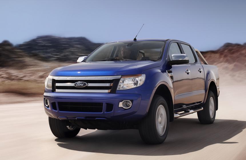 Xe Ford Ranger mạnh mẽ và thanh lịch