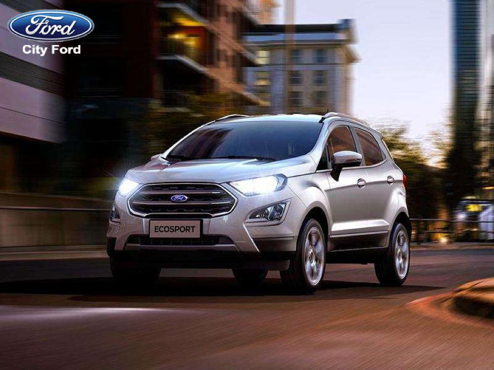 Ford Ecosport 2018 – bước chuyển mình mạnh mẽ