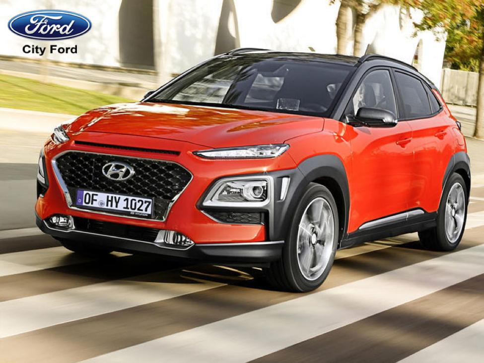 Hyundai Kona 2018 sẽ phải cạnh tranh với Ford Ecosport 2018, chiếm tới 90% phân khúc