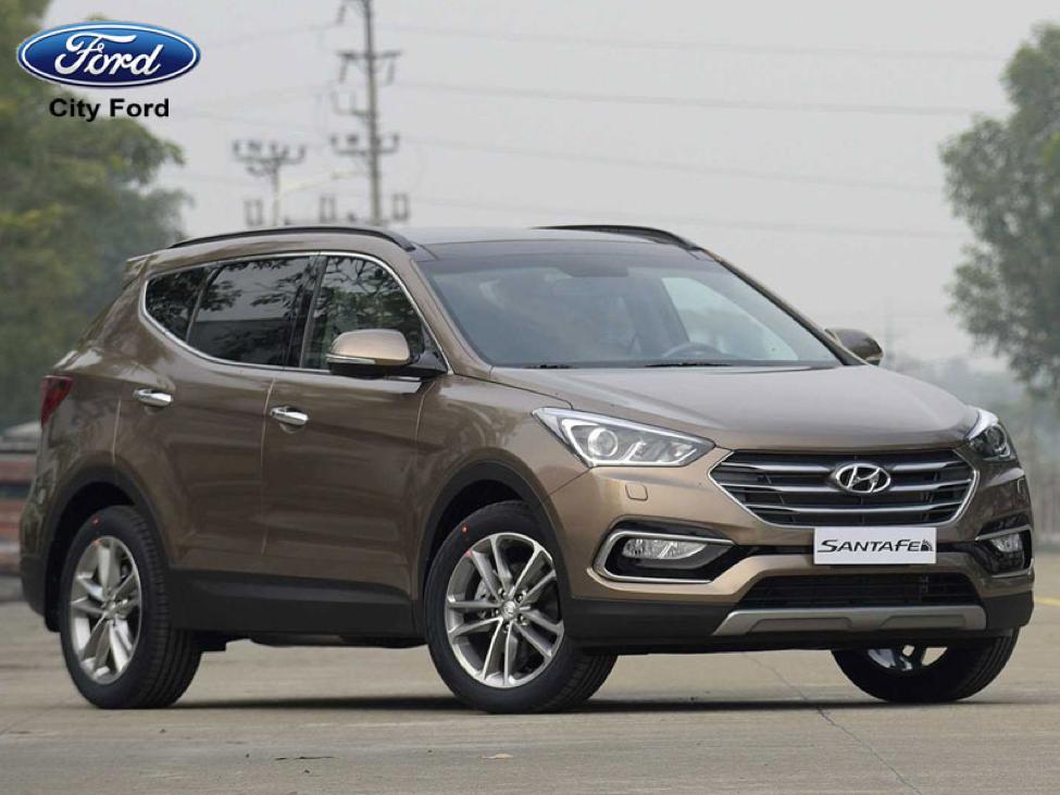 Hyundai SantaFe bền bỉ và tiết kiệm nhiên liệu có xuất xứ nhập khẩu