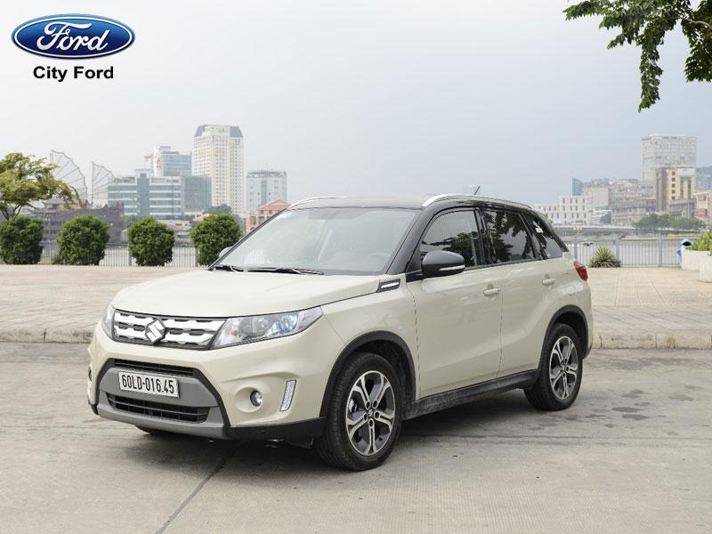 Mẫu xe Suzuki Vitara cũng là một lựa chọn không tồi trong phân khúc này