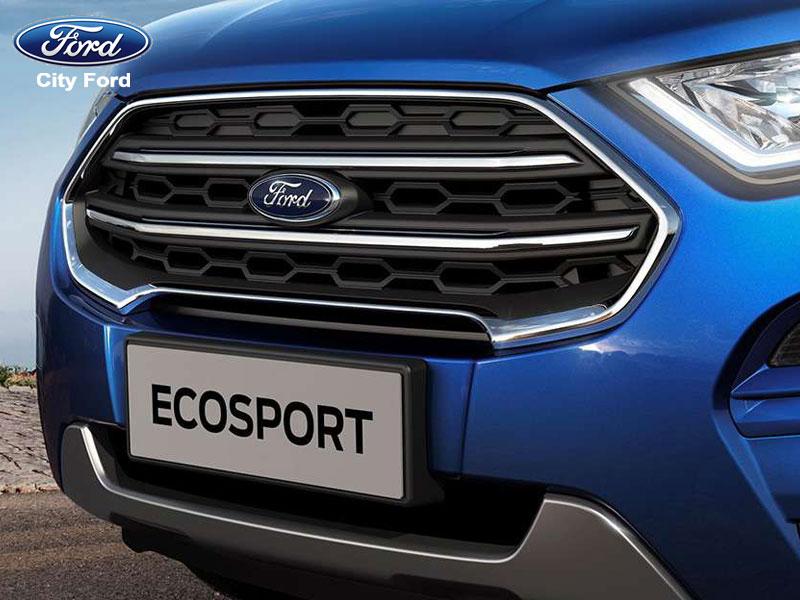 Ford EcoSport trông khoẻ khoắn và thể thao