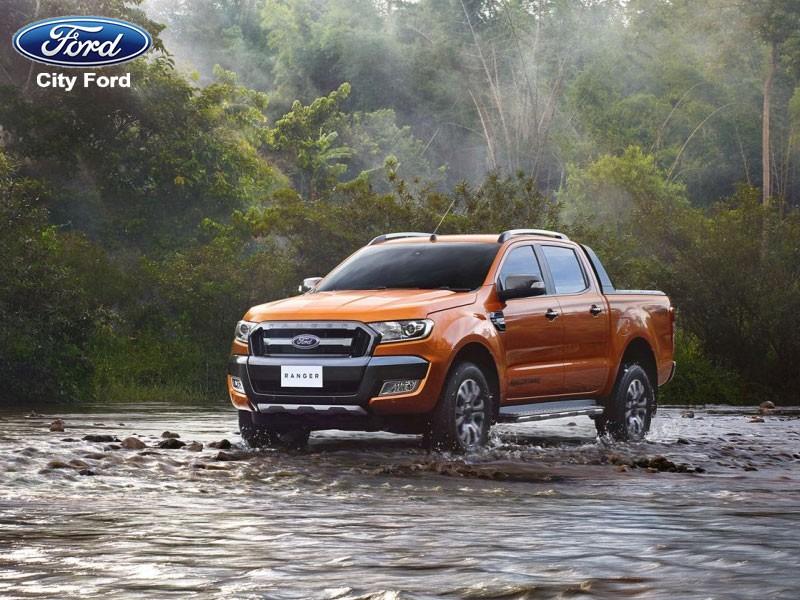 Ford Ranger được sinh ra để đối phó với tình trạng nước ngập sâu