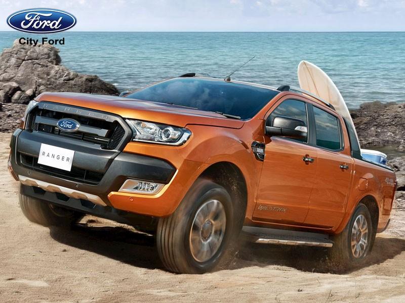 Dòng xe Ford đã chiếm được niềm tin tuyệt đối từ khách hàng nhờ khả năng lội nước tuyệt vời