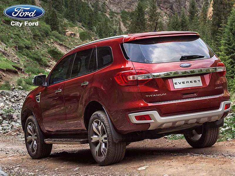 Bạn có thể hoàn tâm yên tâm vì Ford Everest trang bị nhiều hệ thống an toàn