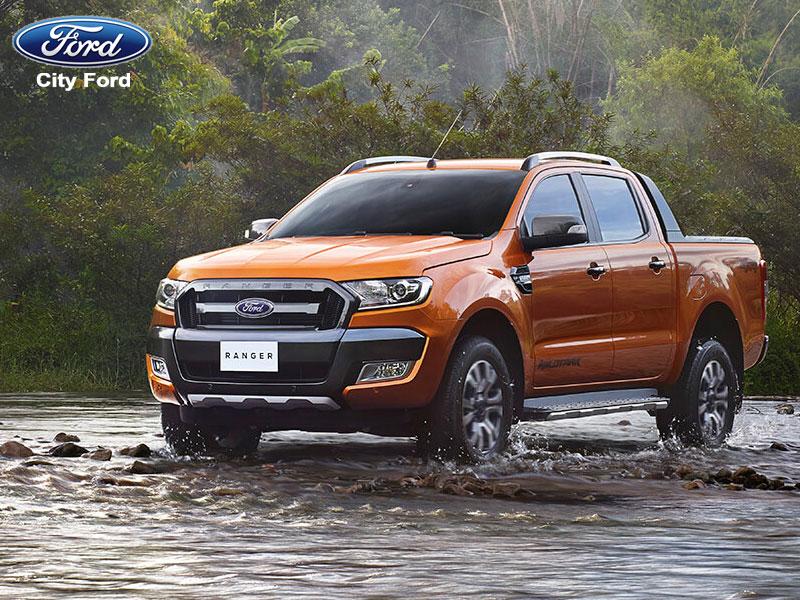 Ford Ranger XLS 4.2 AT vượt mọi địa hình