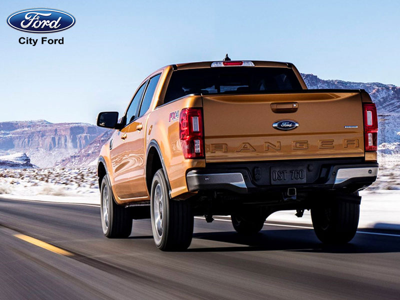 Ford Ranger có trang bị rất nhiều hệ thống hỗ trợ an toàn