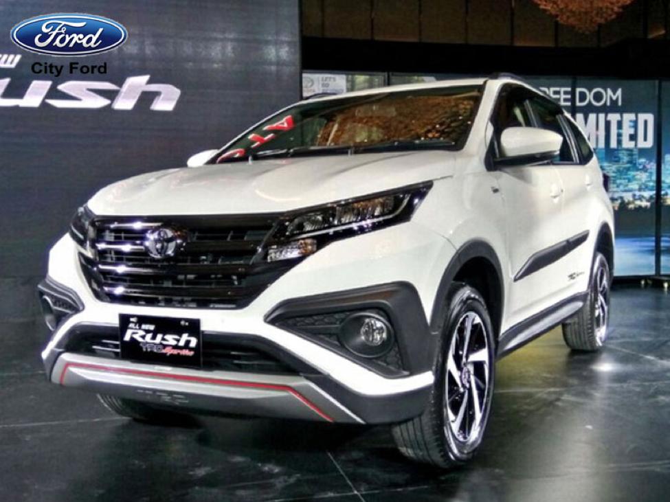 Toyota Rush cũng đã có mặt tại Việt Nam trong thời gian qua