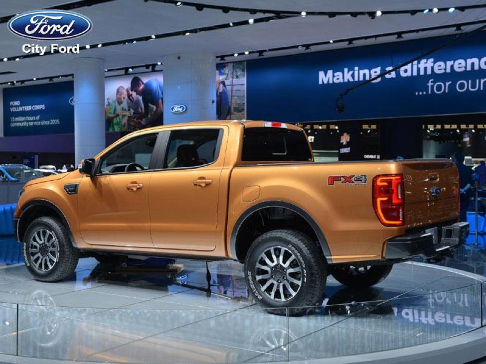 Ford Ranger 2019 trang bị rất nhiều công nghệ an toàn hàng đầu