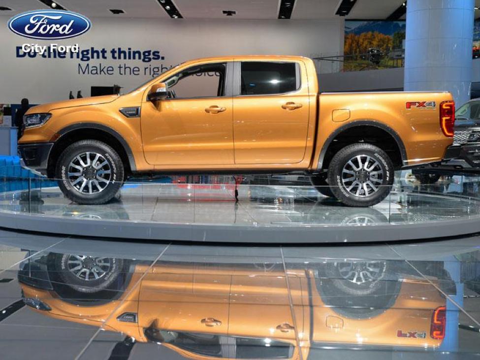 Ford Ranger mới có thể hoạt động một cách an toàn và hiệu quả trên mọi nẻo đường