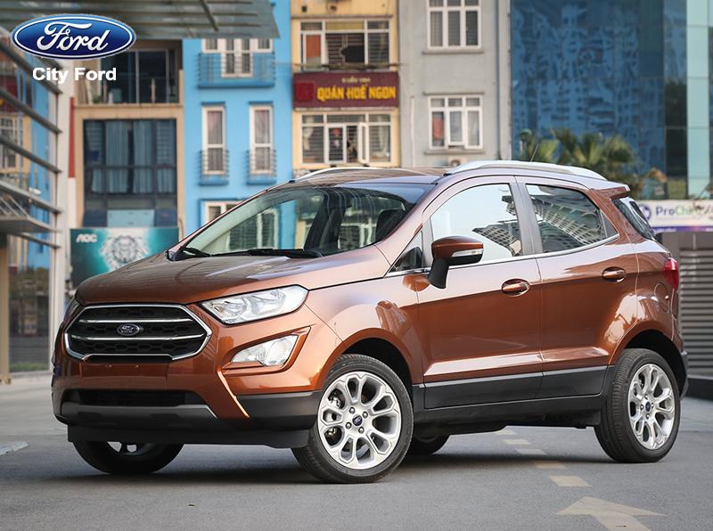 Ford Ecosport 2019 thu hút người dùng ngay từ cái nhìn đầu tiên