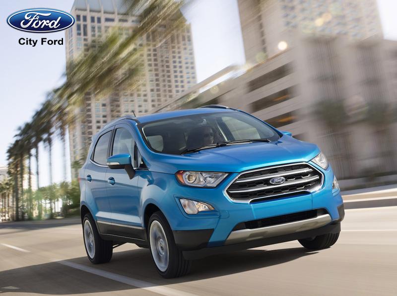 Ford Ecosport 2019 sở hữu thiết kế tinh tế, hiện đại