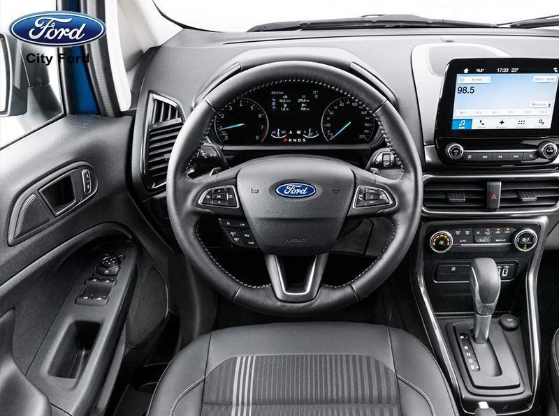 Ford Ecosport 2019 với hệ thống vô-lăng hiện đại