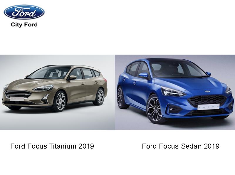 Sedan và Focus Titanium 2019 đang rất được phái đẹp ưa chuộng