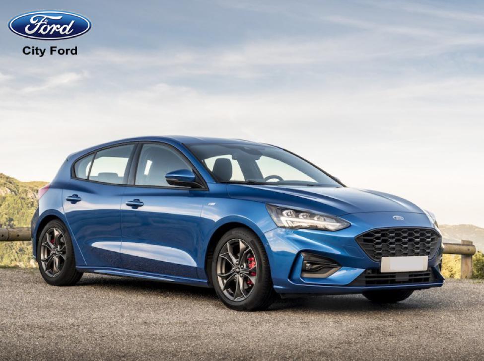 Focus 2019 với thiết kế đầu xe tinh tế và góc cạnh hơn