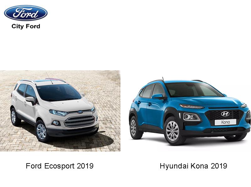 "Ford EcoSport 2019 có mức giá ""vừa túi"" hơn tân bin Hyundai Kona 2019"
