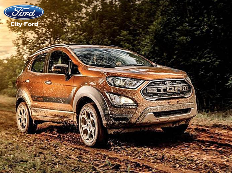 Ford EcoSport 2019 cực kỳ linh hoạt khi di chuyển trên đường trường