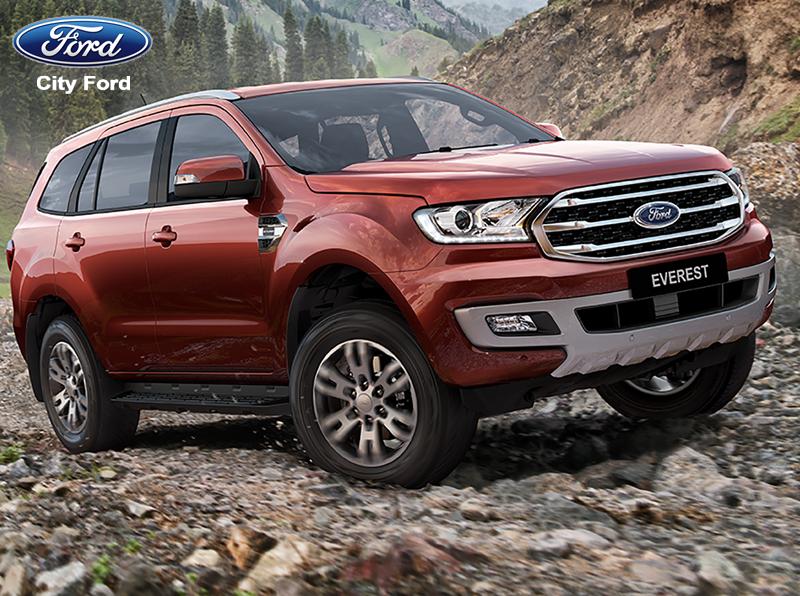 Ford Everest 2019 thể hiện sự cân bằng tuyệt vời đối với những đoạn đường khó