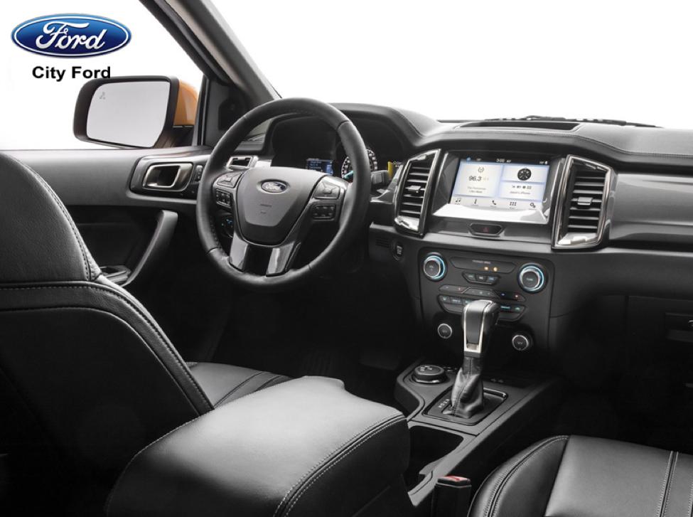 Ford Ranger 2019 trang bị hệ thống phanh chủ động khẩn cấp giúp đảm bảo an toàn khi lái xe