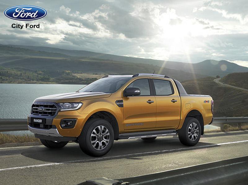 Ford Ranger Wildtrak 2019 có dáng vẻ mạnh mẽ, khỏe khoắn