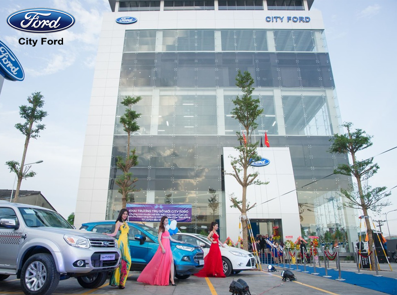 Bạn dễ dàng tìm được sự hỗ trợ từ các showroom xe hơi tại Việt Nam như City Ford