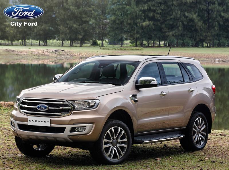 Ford Everest 2019 có nhiều ưu thế vượt trội so với đối thủ cạnh tranh