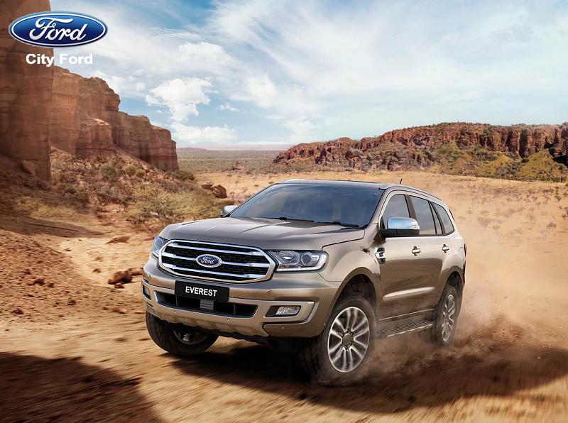 Ford Everest 2019 là dòng xe di chuyển âm ái trên nhiều địa hình