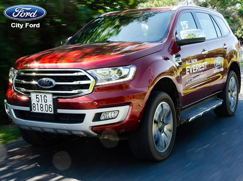 Ford Everest 2019 rất thích hợp cho các chuyến du lịch gia đình
