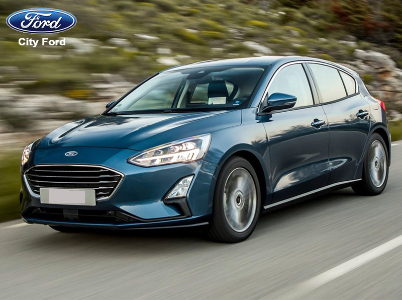 Ford Focus 2019 có kiểu dáng nhỏ gọn, đường nét thanh thoát, hiện đại