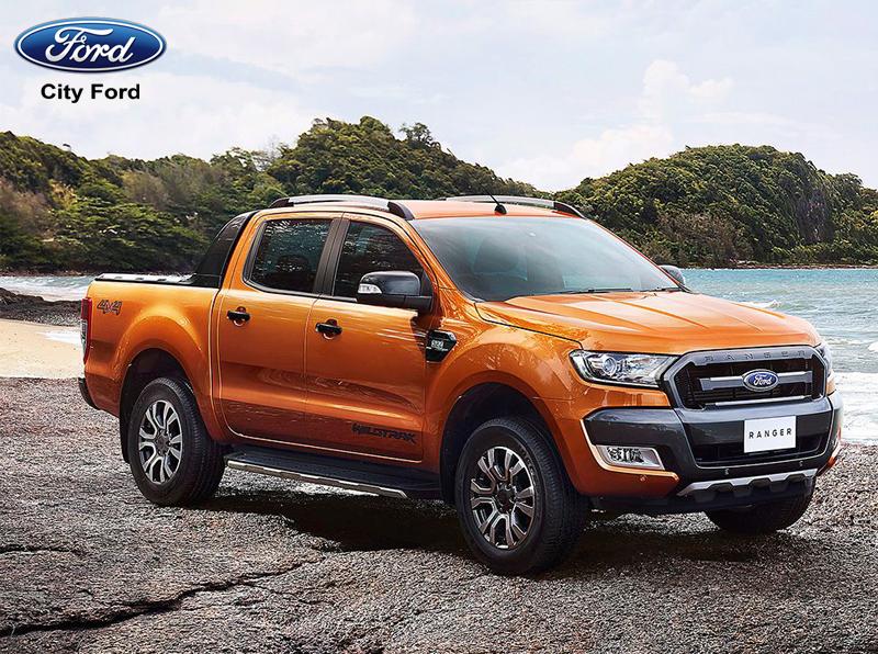 Ford Ranger 2019 màu cam rất phổ biến ở thị trường Việt Nam