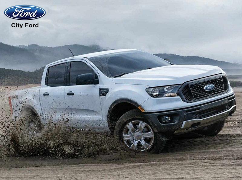 Gầm xe Ford Ranger 2019 cao giúp xe di chuyển tốt ở nhiều địa hình