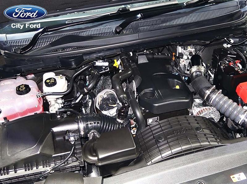 Động cơ của Ford Everest rất mạnh mẽ