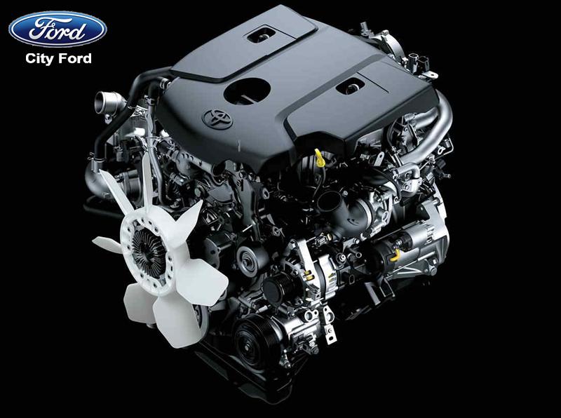 Động cơ của Toyota Hilux có thể sản sinh mã lực lên đến 174