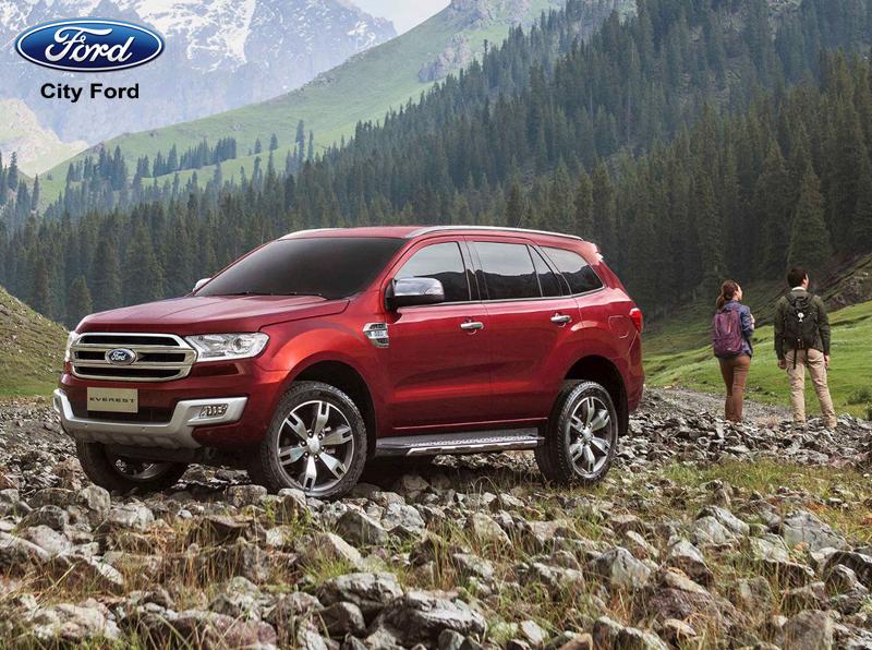 Dùng xe Ford Everest đi off-road là xu hướng của rất nhiều người