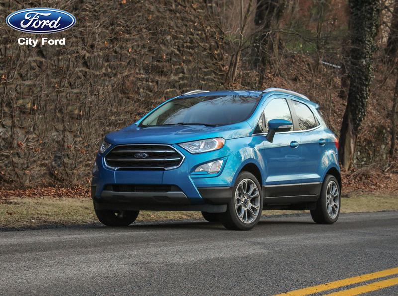 Ford Ecosport của City Ford là dòng xe được yêu thích bởi nhỏ gọn và tiện lợi