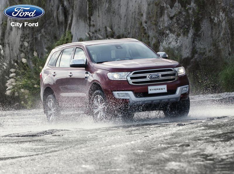 Ford Everest có khả năng off-road vượt trội