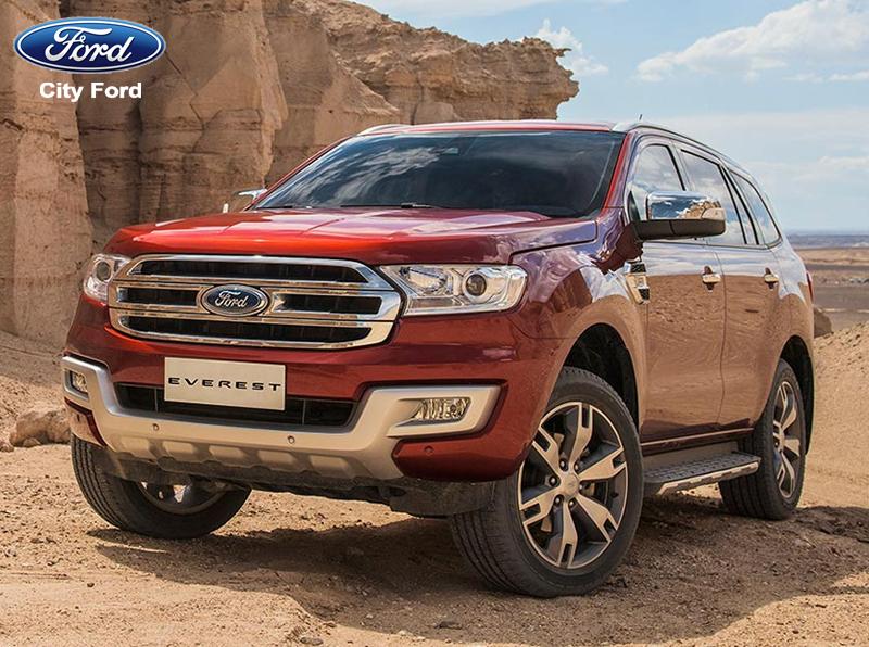 Ford Everest Titanium được mệnh danh là dòng xe du lịch cho gia đình