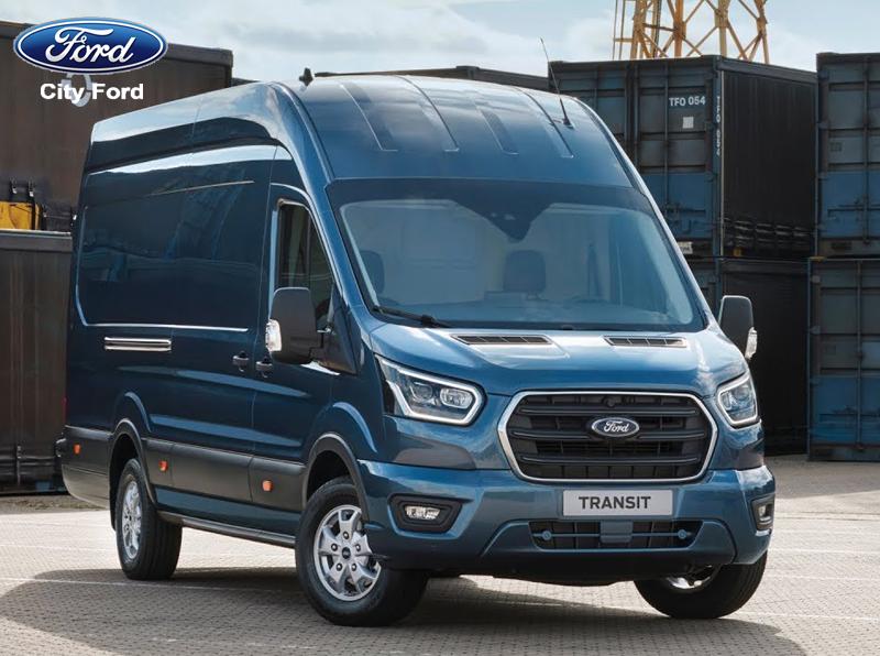 Ford Transit có kiểu dáng hiền lành, thon gọn hơn