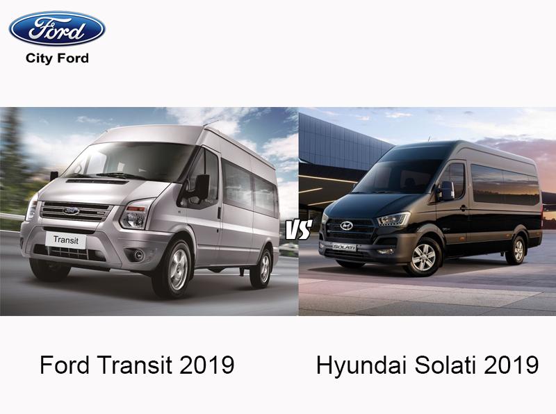 Ford Transit và Hyundai – ai hơn ai?