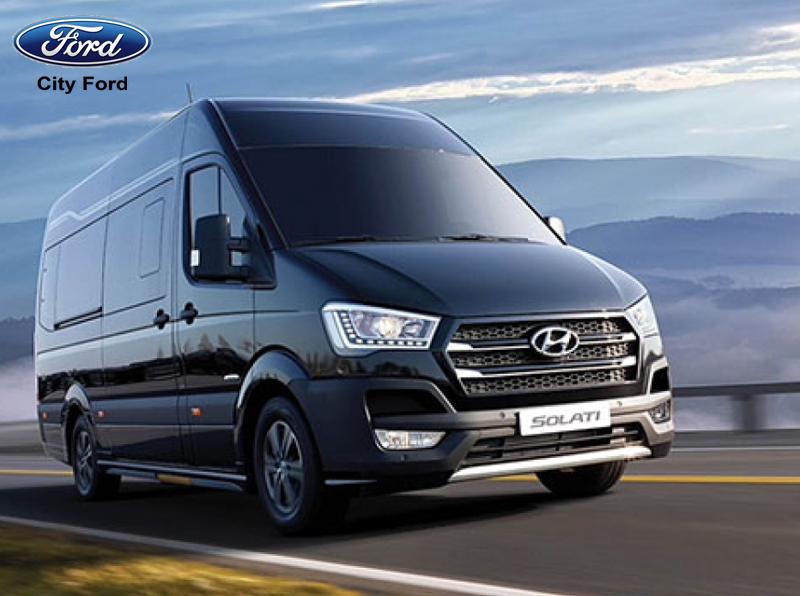 Hyundai Solati phù hợp để phục vụ khách hàng phân khúc cao cấp