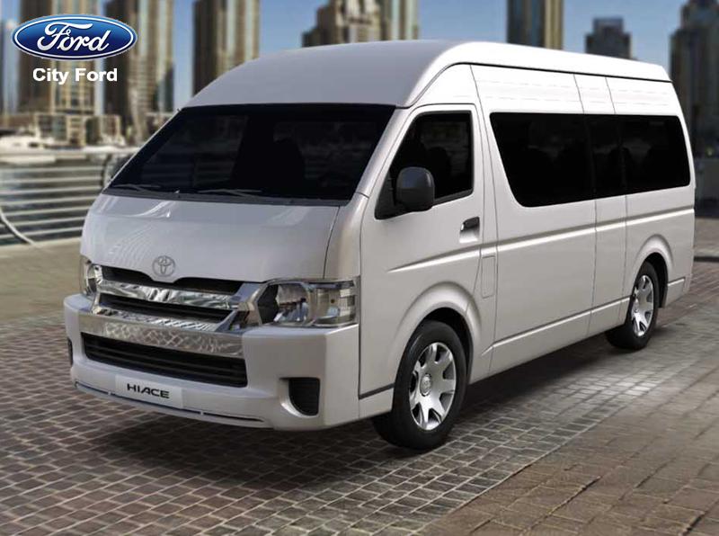 Toyota Hiace là mẫu xe cơ bản, có thể dùng để kinh doanh dịch vụ trong nội thị