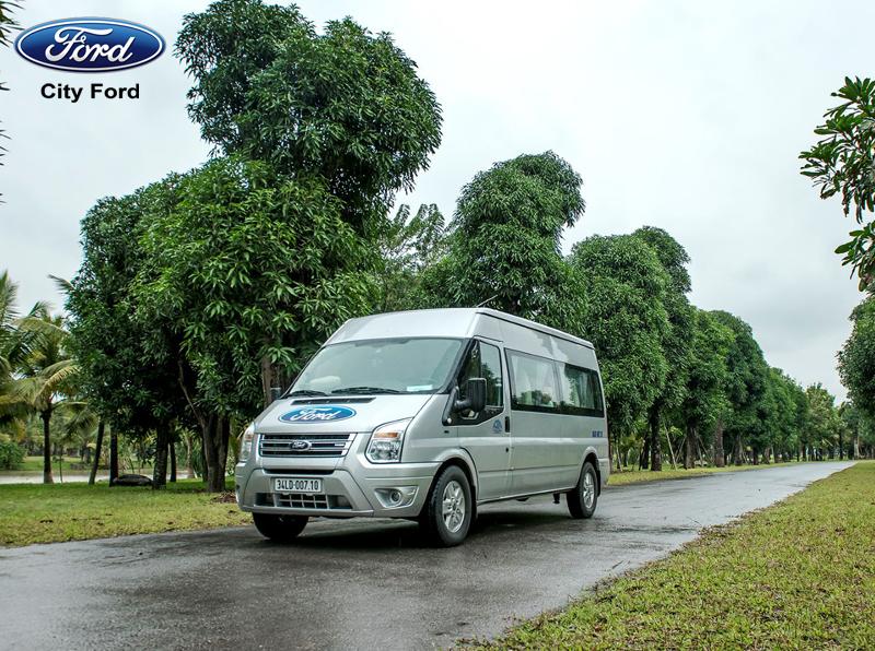 Thiết kế hiện đại của Ford Transit mang đến cho bạn sự an toàn tuyệt đối