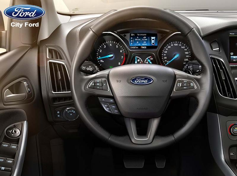 Nội thất rộng rãi của Ford Focus 2019