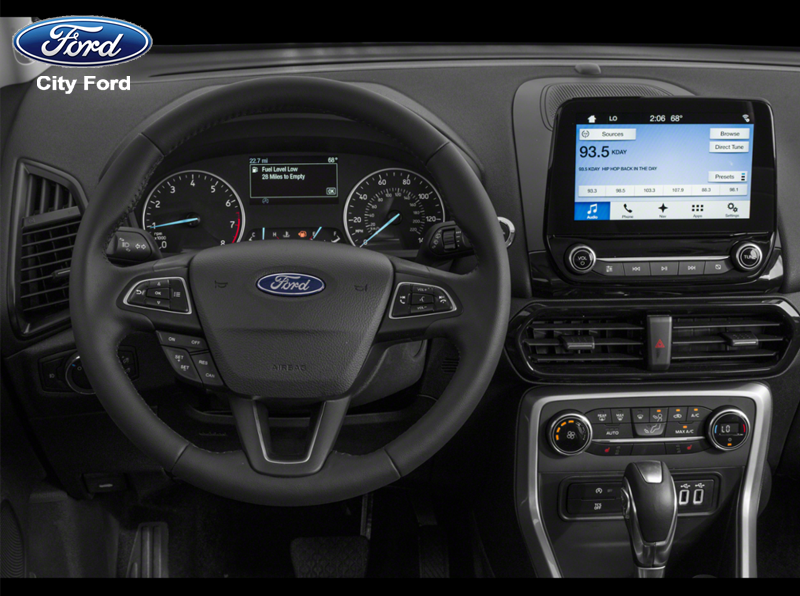 Vô lăng của Ford Ecosport 2019